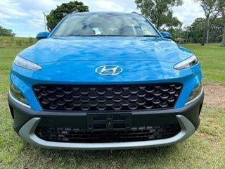 2021 Hyundai Kona Os.v4 MY21 2WD Dive in Jeju 8 Speed Constant Variable Wagon.