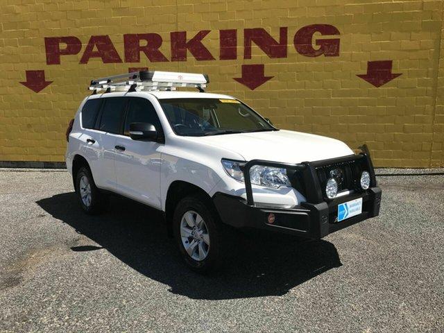 Used Toyota Landcruiser Prado GDJ150R GX Winnellie, 2018 Toyota Landcruiser Prado GDJ150R GX White 6 Speed Sports Automatic Wagon