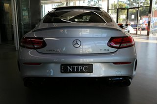 2019 Mercedes-Benz C-Class C205 809MY C43 AMG 9G-Tronic 4MATIC Silver 9 Speed Sports Automatic Coupe