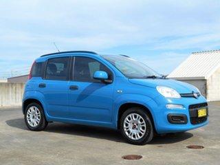 2013 Fiat Panda 150 Easy Dualogic Blue 5 Speed Sports Automatic Single Clutch Hatchback.
