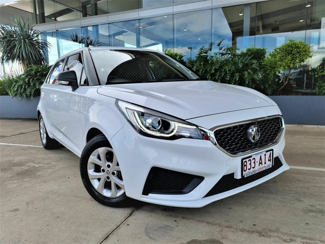 Used MG MG3 Beaudesert, 2020 MG MG3 MG3 White 4 Speed Automatic Hatchback