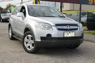 2010 Holden Captiva CG MY10 SX (FWD) Silver 5 Speed Automatic Wagon.