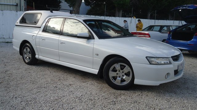 Used Holden Crewman VZ S Seaford, 2005 Holden Crewman VZ S White 4 Speed Automatic Utility