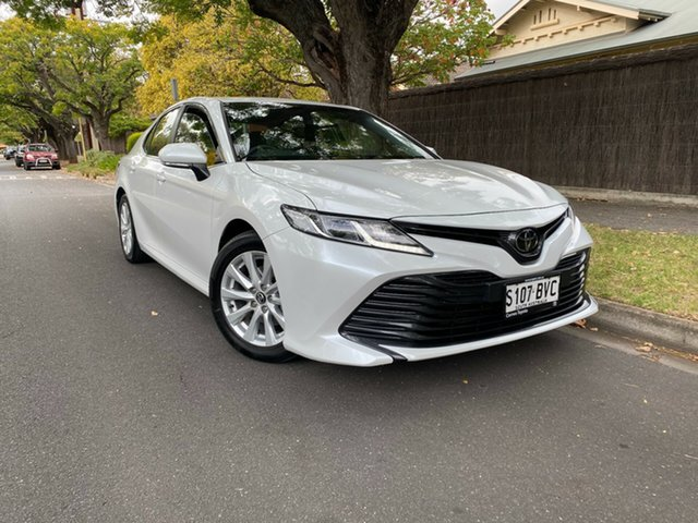 Pre-Owned Toyota Camry ASV70R Ascent Sport Hawthorn, 2018 Toyota Camry ASV70R Ascent Sport White 6 Speed Sports Automatic Sedan