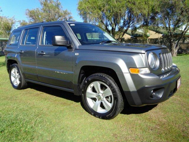 Used Jeep Patriot MK MY14 Sport 4x2 Kippa-Ring, 2013 Jeep Patriot MK MY14 Sport 4x2 Grey 5 Speed Manual Wagon