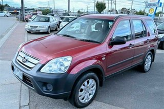 2006 Honda CR-V RD MY2006 Extra 4WD Red 5 Speed Automatic Wagon.