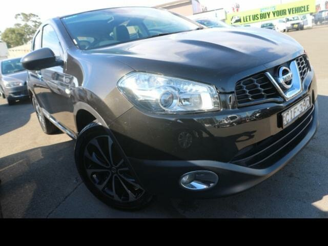 Used Nissan Dualis J10 Series 3 TI-L (4x2) Kingswood, 2012 Nissan Dualis J10 Series 3 TI-L (4x2) Black 6 Speed CVT Auto Sequential Wagon