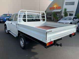 2012 Mitsubishi Triton MN MY12 GLX Double Cab White 5 Speed Manual Utility.