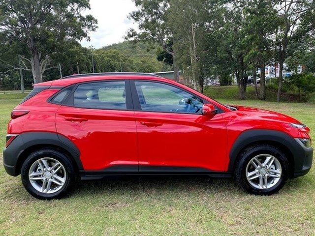 New Hyundai Kona Os.v4 MY21 2WD Augustine Heights, 2021 Hyundai Kona Os.v4 MY21 2WD Ignite Flame 8 Speed Constant Variable Wagon