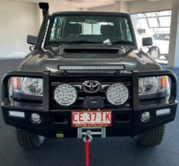 2021 Toyota Landcruiser VDJ79R GXL Double Cab Grey 5 Speed Manual Cab Chassis