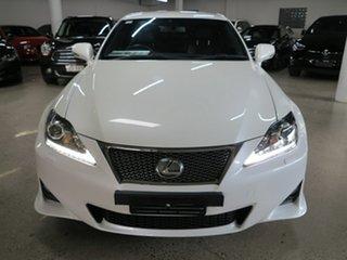 2013 Lexus IS GSE20R MY13 IS250 F Sport White 6 Speed Sports Automatic Sedan.