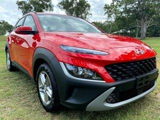 2021 Hyundai Kona Os.v4 MY21 2WD Ignite Flame 8 Speed Constant Variable Wagon.