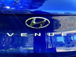 2021 Hyundai Venue QX.V3 MY21 Intense Blue 6 Speed Manual Wagon