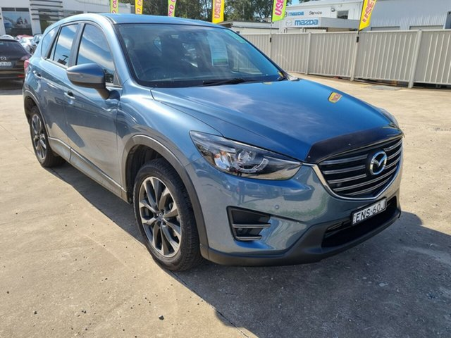 Used Mazda CX-5 KE1022 Grand Touring SKYACTIV-Drive AWD Glendale, 2016 Mazda CX-5 KE1022 Grand Touring SKYACTIV-Drive AWD Blue 6 Speed Sports Automatic Wagon