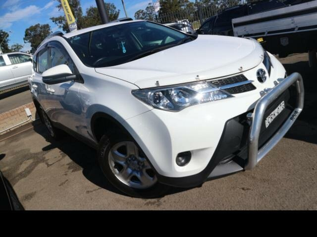 Used Toyota RAV4 ZSA42R GX (2WD) Kingswood, 2013 Toyota RAV4 ZSA42R GX (2WD) White 6 Speed Manual Wagon