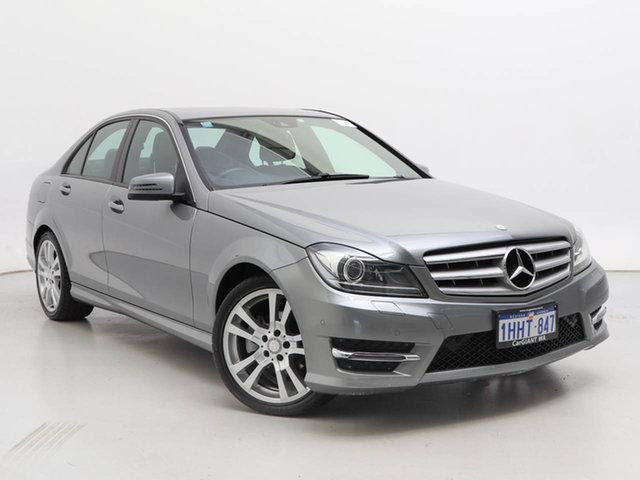 Used Mercedes-Benz C200 W204 MY14 CDI, 2014 Mercedes-Benz C200 W204 MY14 CDI Silver 7 Speed Automatic G-Tronic Sedan