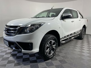 2017 Mazda BT-50 UR0YG1 XTR 4x2 Hi-Rider Cool White 6 Speed Sports Automatic Utility.
