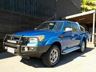2011 Ford Ranger PK XLT Crew Cab Blue 5 Speed Automatic Utility