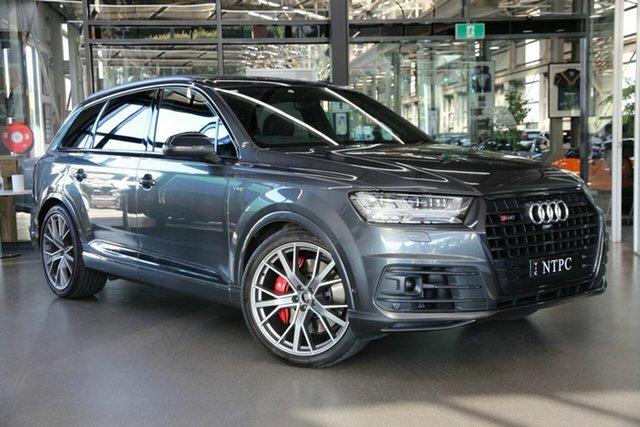 Used Audi SQ7 4M MY18 TDI Tiptronic North Melbourne, 2018 Audi SQ7 4M MY18 TDI Tiptronic Grey 8 Speed Sports Automatic Wagon