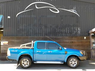 2011 Ford Ranger PK XLT Crew Cab Blue 5 Speed Automatic Utility.