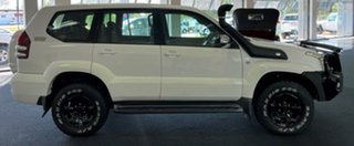 2009 Toyota Landcruiser Prado KDJ120R GX White 5 Speed Automatic Wagon.