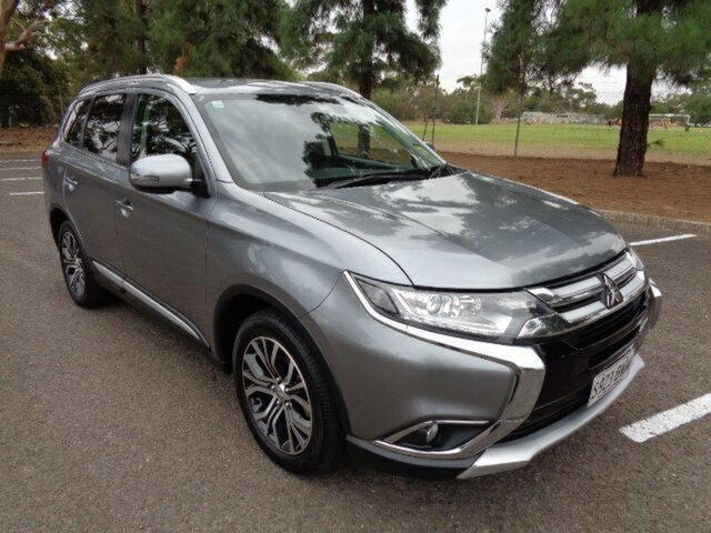 Used Mitsubishi Outlander ZL MY18.5 LS 2WD Elizabeth, 2018 Mitsubishi Outlander ZL MY18.5 LS 2WD Grey 6 Speed Constant Variable Wagon