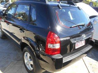 2007 Hyundai Tucson JM MY07 City SX Black 5 Speed Manual Wagon
