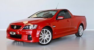 2011 Holden Ute VE II SS Red 6 Speed Manual Utility.