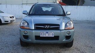 2009 Hyundai Tucson JM MY09 SX Silver 4 Speed Sports Automatic Wagon