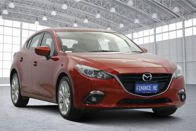 Used Mazda 3 BM5438 SP25 SKYACTIV-Drive Victoria Park, 2016 Mazda 3 BM5438 SP25 SKYACTIV-Drive Red 6 Speed Sports Automatic Hatchback