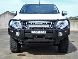 2015 Mitsubishi Triton MQ MY16 GLS Double Cab White 6 Speed Manual Utility