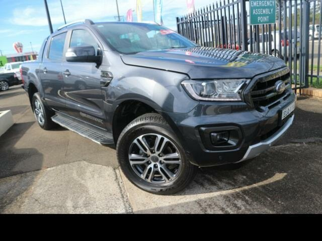 Used Ford Ranger Kingswood, Ford 2020.75 DOUBLE PU WILDTRAK . 2.0L BIT 10 4X4