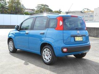 2013 Fiat Panda 150 Easy Dualogic Blue 5 Speed Sports Automatic Single Clutch Hatchback