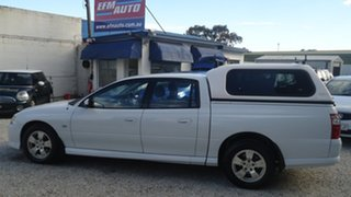 2005 Holden Crewman VZ S White 4 Speed Automatic Utility.