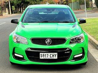 2017 Holden Ute VF II MY17 SS V Ute Redline Green 6 Speed Manual Utility.