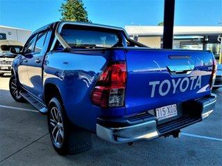 2017 Toyota Hilux SR5 Blue 6 Speed Automatic Dual Cab