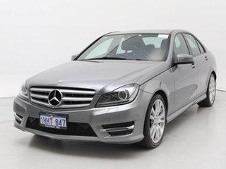 2014 Mercedes-Benz C200 W204 MY14 CDI Silver 7 Speed Automatic G-Tronic Sedan.
