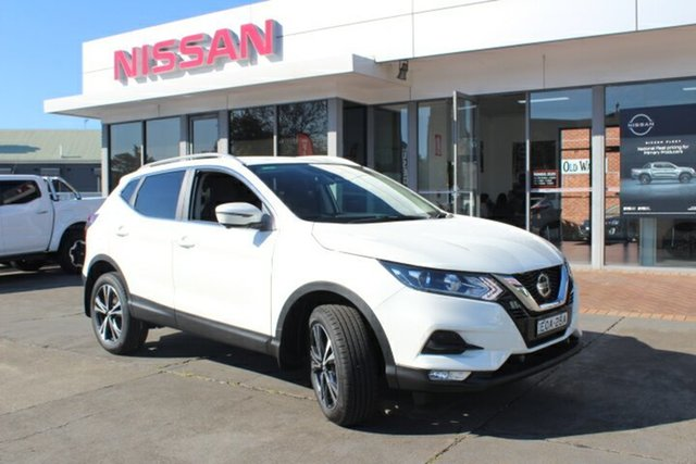 Demo Nissan Qashqai J11 Series 3 MY20 ST-L X-tronic Hamilton, 2019 Nissan Qashqai J11 Series 3 MY20 ST-L X-tronic Ivory Pearl 1 Speed Constant Variable Wagon