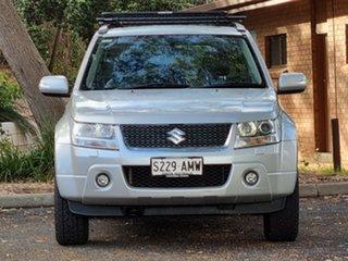 2010 Suzuki Grand Vitara JB MY09 Prestige Silver 5 Speed Automatic Wagon.