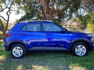 2021 Hyundai Venue QX.V3 MY21 Intense Blue 6 Speed Manual Wagon.