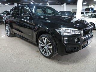2016 BMW X6 F16 xDrive30d Coupe Steptronic Black 8 Speed Sports Automatic Wagon.