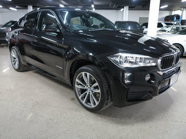 Used BMW X6 F16 xDrive30d Coupe Steptronic Albion, 2016 BMW X6 F16 xDrive30d Coupe Steptronic Black 8 Speed Sports Automatic Wagon
