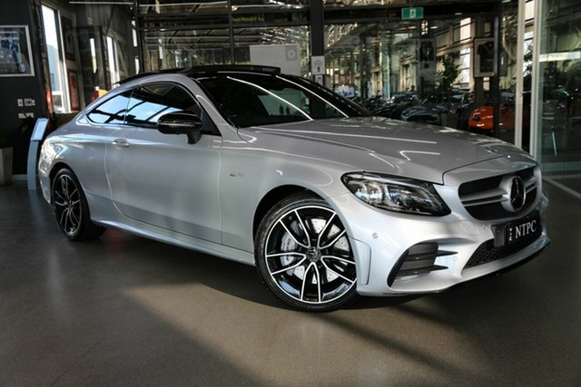 Used Mercedes-Benz C-Class C205 809MY C43 AMG 9G-Tronic 4MATIC North Melbourne, 2019 Mercedes-Benz C-Class C205 809MY C43 AMG 9G-Tronic 4MATIC Silver 9 Speed Sports Automatic Coupe
