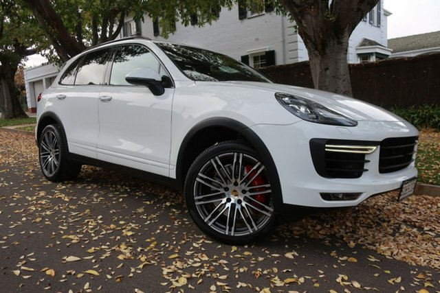 Used Porsche Cayenne 92A MY15 Turbo Tiptronic Prospect, 2015 Porsche Cayenne 92A MY15 Turbo Tiptronic 8 Speed Sports Automatic Wagon
