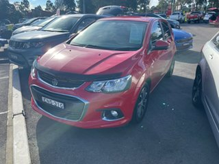 2017 Holden Barina TM MY18 LS Red 5 Speed Manual Hatchback.