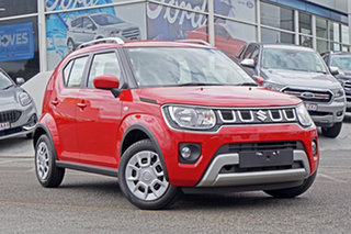 2021 Suzuki Ignis MF Series II GL Red 1 Speed Constant Variable Hatchback.