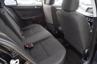 2013 Mitsubishi Lancer CJ MY14 ES Black 5 Speed Manual Sedan
