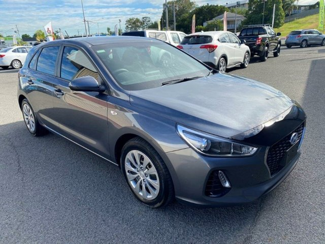 Used Hyundai i30 PD MY18 Go Gladstone, 2018 Hyundai i30 PD MY18 Go Grey 6 Speed Sports Automatic Hatchback