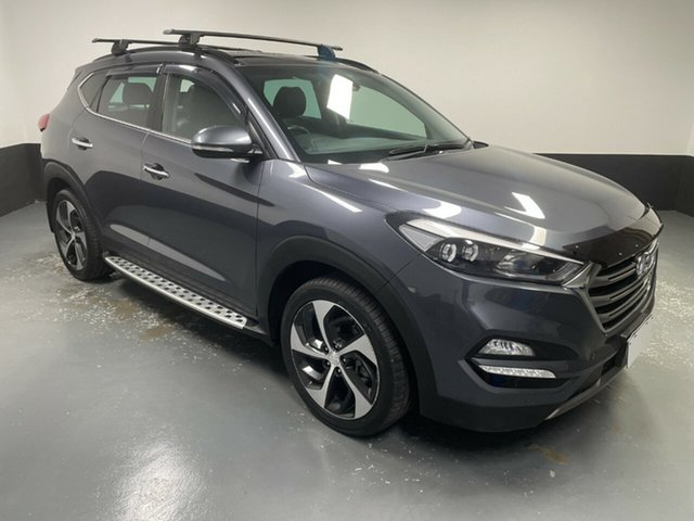Used Hyundai Tucson TLE Highlander AWD Hamilton, 2016 Hyundai Tucson TLE Highlander AWD Grey 6 Speed Sports Automatic Wagon