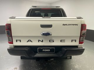 2015 Ford Ranger PX MkII Wildtrak Double Cab White 6 Speed Sports Automatic Utility
